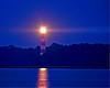"""""""Guiding Light3""""- Assateague lighthouse still functions.  Photographed after dark 8-31-07."""