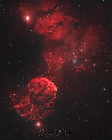 Jellyfish Nebula, 1C443