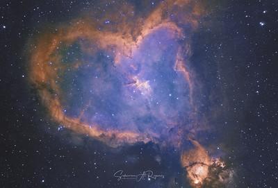 The Heart Nebula, IC 1805