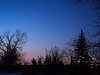 Saturn, Mars, Jupiter over Calgary Sunrise