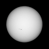 The Sun as seen from Sydney on 2013-04-21<br /> <br /> Sony A100 DSLR with Sony 500/8 AF Reflex, 1/800 s, f/8, ISO 200.
