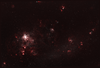 Nebulosity in the Large Magellanic Cloud
