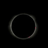 Totality with prominence!