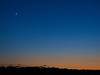 Crescent Moon, Mercury and Venus, 2020 05 24.