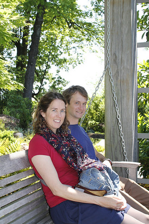 Catherine & Drew at the Atlanta Botanical Gardens