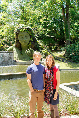 Catherine, Drew and the Earth Goddess