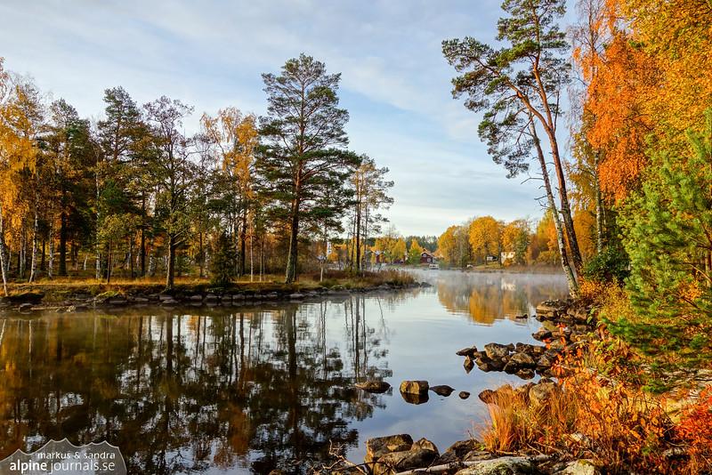 Lake Grycken in Dalarna, Sweden