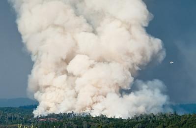 Auburn Forest Fire, July 2009