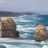 "Two of the ""12 Apostles"" Great Ocean Road Victoria"