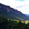 The Three Sisters rock formation overlooks the Jamison Valley near Katoomba 1