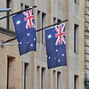 Australian Flags in Sydney (1)