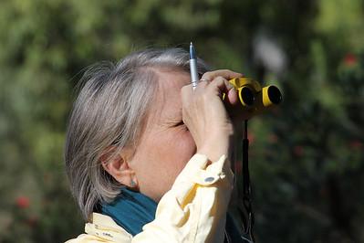 The birder I love.