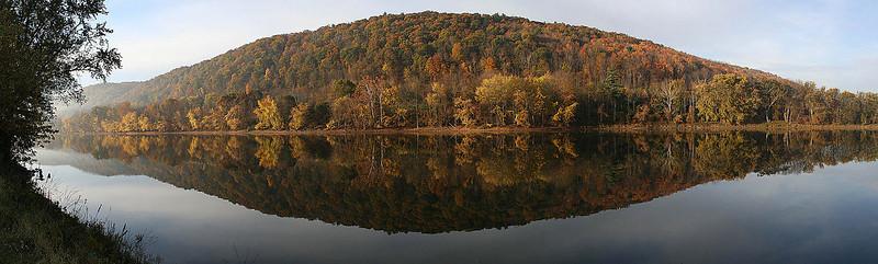 October Morning on the Susquehanna, Owego, New York