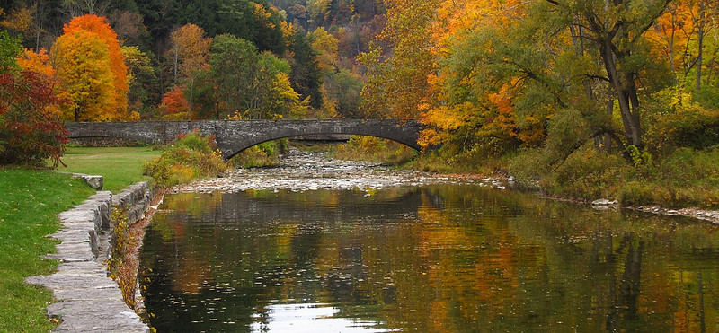 Stone Bridge at Taughannock State Park