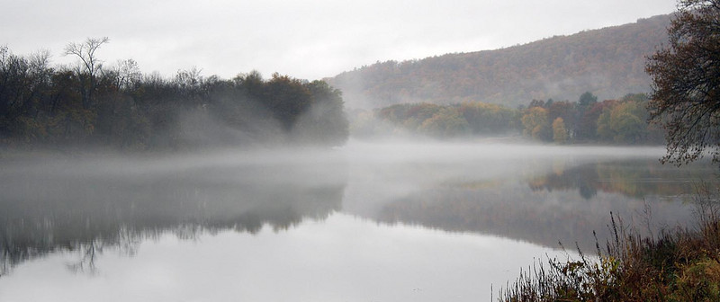 Morning Mist on the Susquehanna