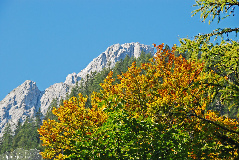 Karwendel in autumn