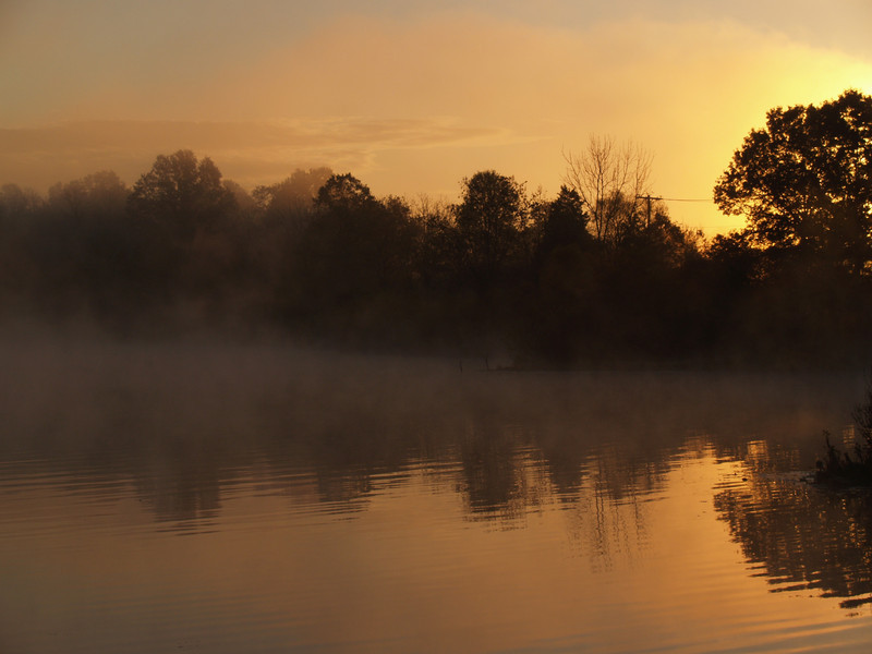 A very early morning visit to the reservoirs on Heller Rd., Quakertown...