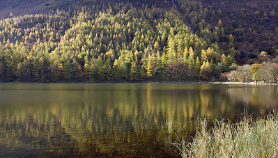 Autumn reflections, Buttermere