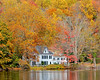 Fall foliage in Cold Spring Harbor,NY.