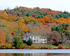 Autumn foliage in Cold Spring Harbor.