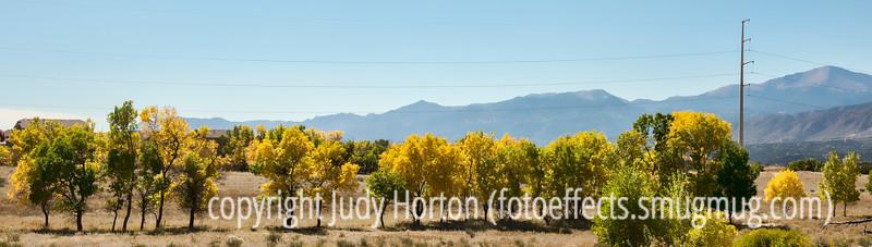 Autumn in Colorado Springa