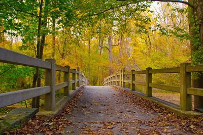 Rock Creek Park, BB Riley Springs Bridge