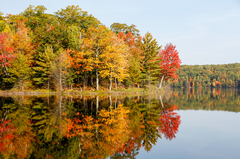 Autumn at Beautiful Frank Lake 2