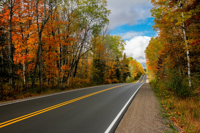 Beautiful Autumn Roads - Hwy B 1