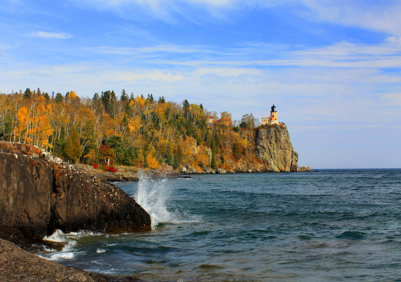 """Autumn at the Lighthouse"""