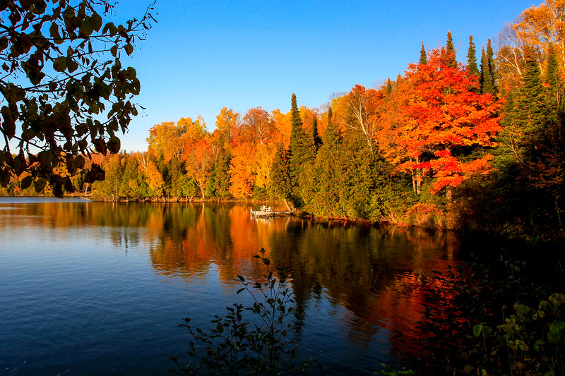 Autumn Colorfest at Little Horsehead Lake
