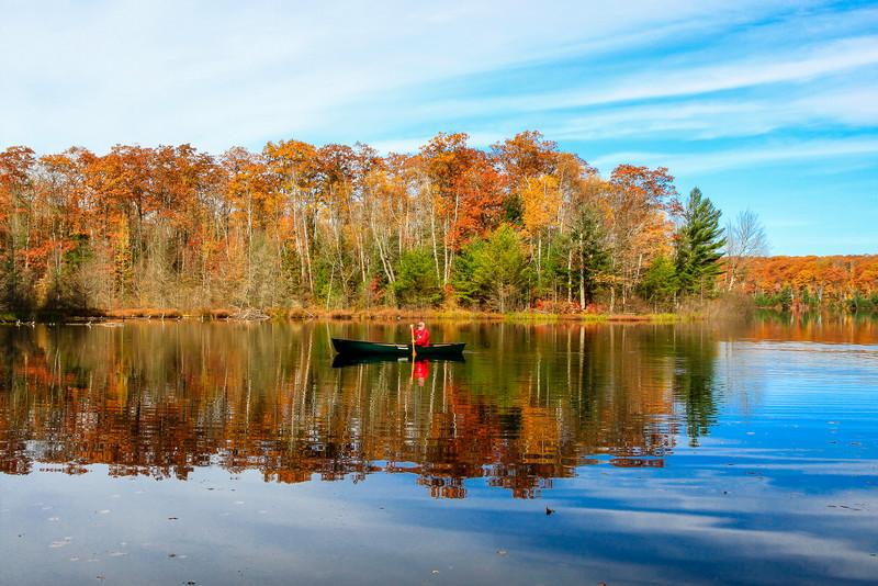 Autumn in a Canoe   11
