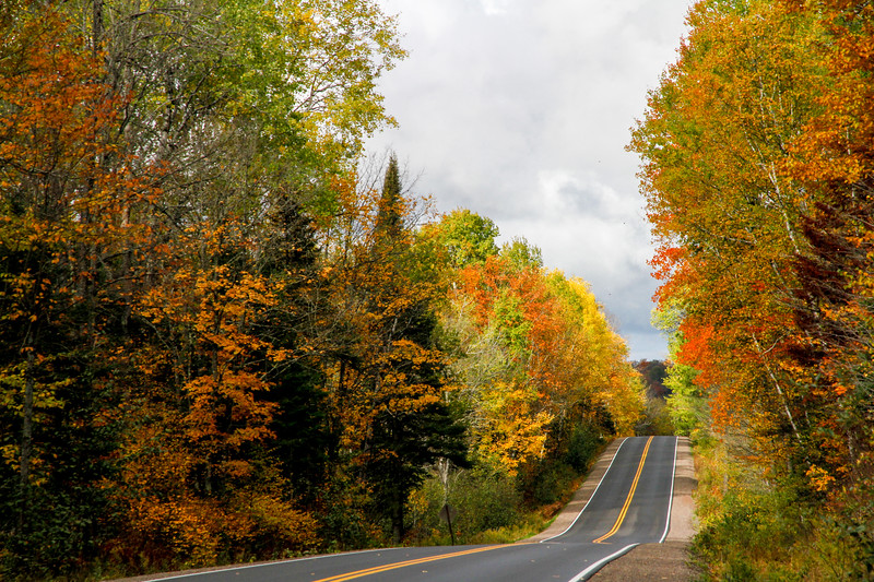 Beautiful Autumn Roads - Hwy B 3