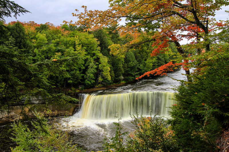 Autumn at Tahquamenon Falls
