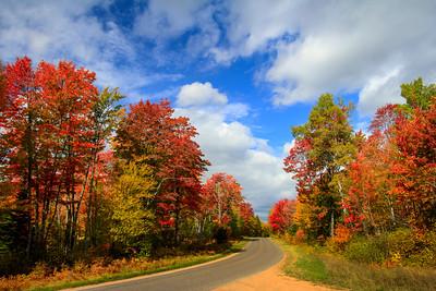 Autumn's Colorful Roads   7