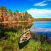 Autumn in a Canoe  4