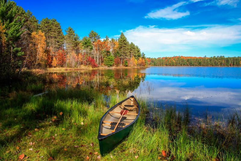 Autumn in a Canoe  4