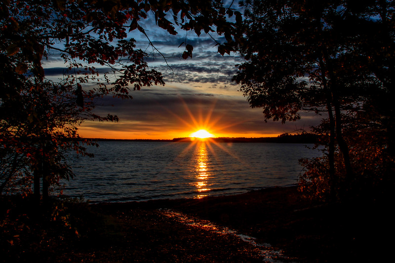 Golden Trout Lake Sunset 2