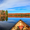 Breathtaking Autumn From a Canoe