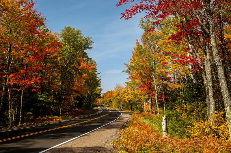 Beautiful Autumn Roads - Hwy B 6