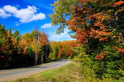 Autumn's Colorful Roads  5