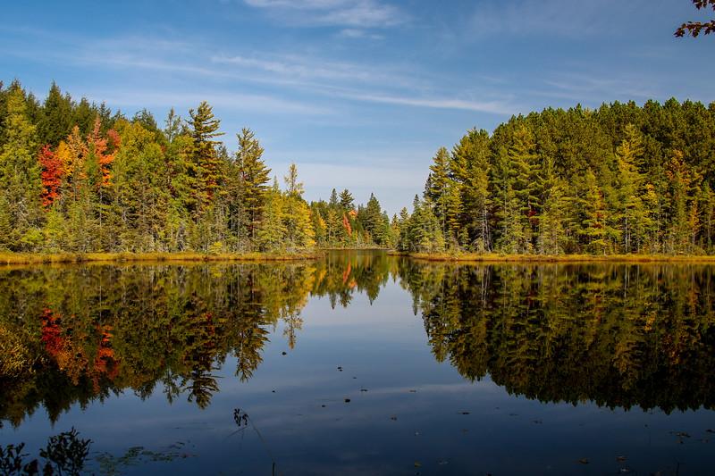 Devil's Lake Reflections 1