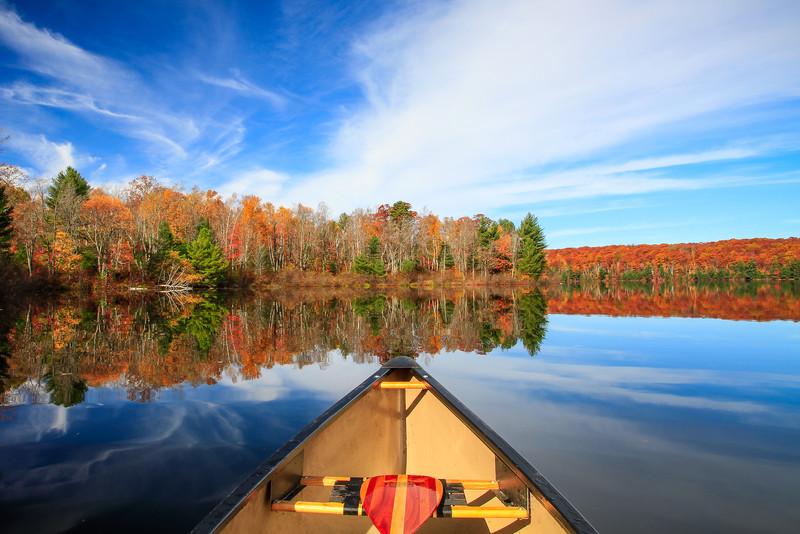 Autumn in a Canoe   8