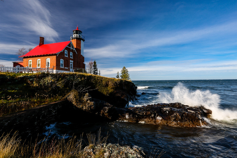 Giant Waves at Eagle Harbor  3