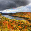 """""""OMG Autumn Moment at Lake of the Clouds"""""""