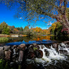 Autumn on the Presque Isle River  1