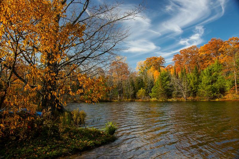 Late Fall at Nebish Lake