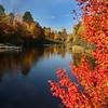 """ Autumn Reds ""  Boulder Junction Wisconsin"