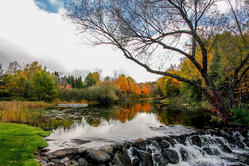 Colorful Presque Isle River