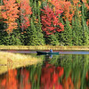 """ Autumn on the Lake 2 "" Boulder Junction Wisconsin"