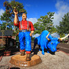 Paul Bunyan and Babe the Blue Ox, Minocqua Wisconsin 2